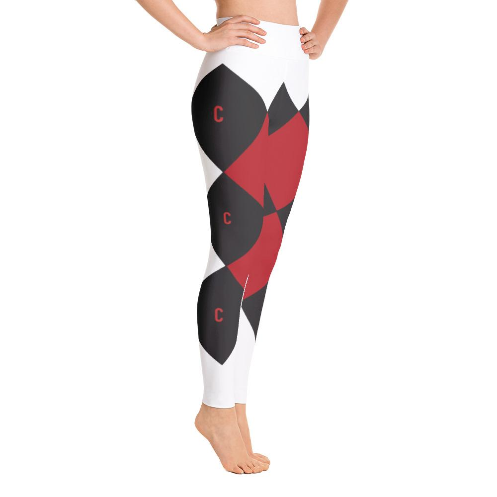 Custom Clobber Club Triple C Limited Edition gym/Yoga Leggings - customclobberclub,  - Streetwear,T-shirts,Hoodies,Sweaters,hypebeast