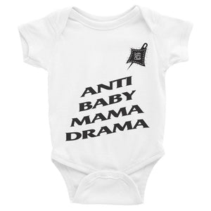 Custom Clobber Club Anti Baby Mama Drama Limited Ed. Infant Bodysuit - customclobberclub