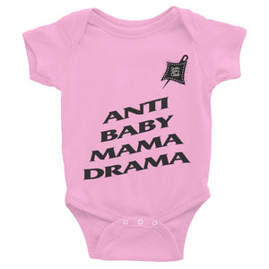 Custom Clobber Club Baby Mama Drama Limited Ed. Infant Bodysuit - customclobberclub