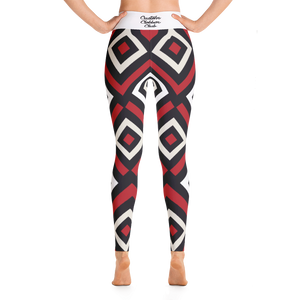 womens Geometric pattern leggings from Custom Clobber Club - customclobberclub,  - T-shirts & Sweaters