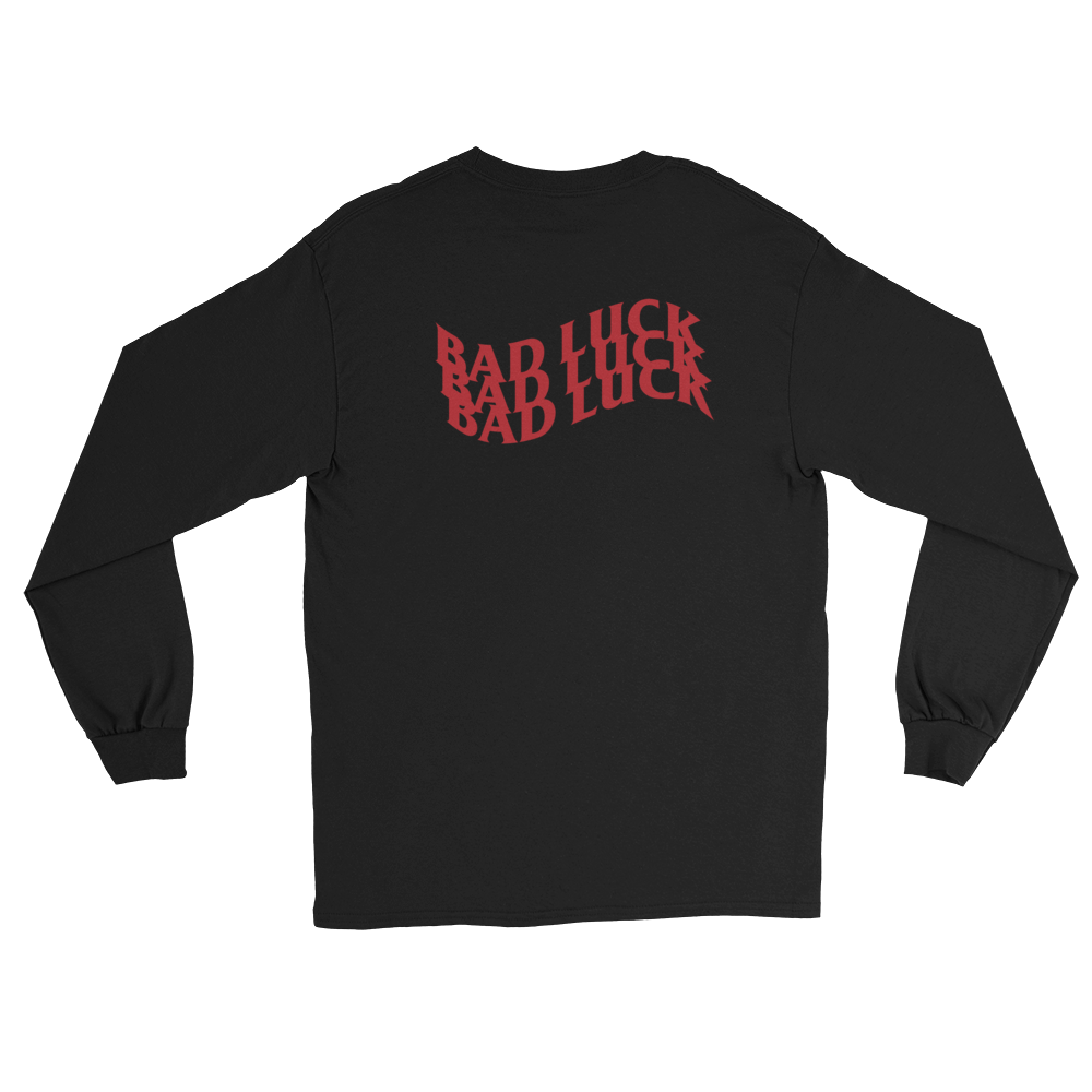 Bad Luck Long Sleeve T-Shirt - customclobberclub,  - Streetwear,T-shirts,Hoodies,Sweaters,hypebeast
