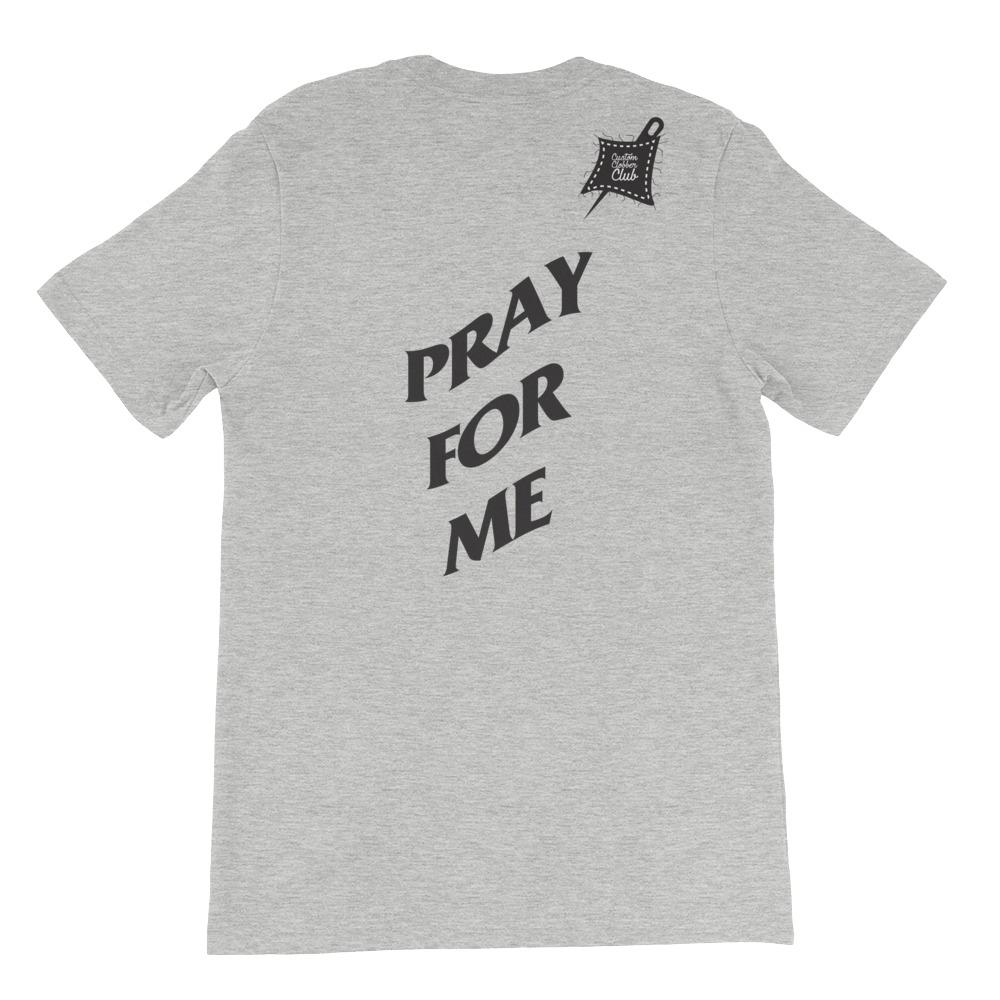 Custom Clobber Club Prayers Limited Ed. Short-Sleeve Unisex T-Shirt - customclobberclub