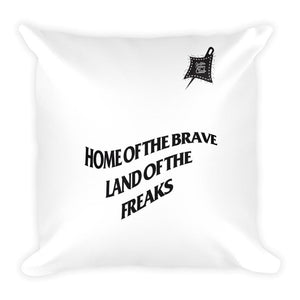 Home of the brave House Pillow - Limited Ed. - customclobberclub,  - Streetwear,T-shirts,Hoodies,Sweaters,hypebeast