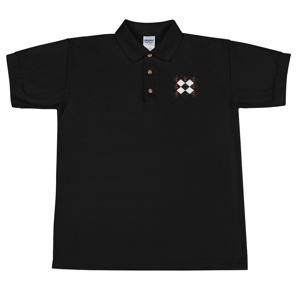 Triple C Embroidered Polo T-Shirt - Limited Edition - customclobberclub,  - Streetwear,T-shirts,Hoodies,Sweaters,hypebeast