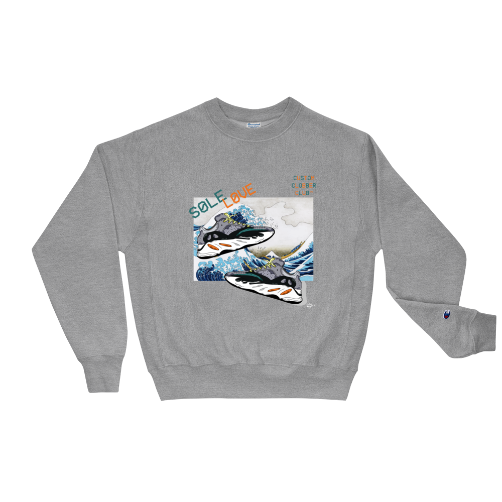 Sole Love 700 Sneaker Champion Sweatshirt