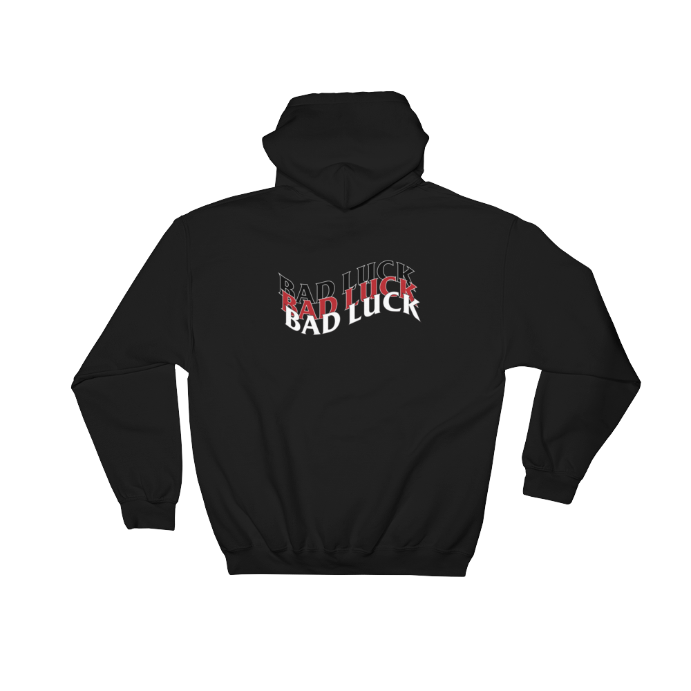 Bad Luck Hooded Sweatshirt Limited Ed. - customclobberclub,  - Streetwear,T-shirts,Hoodies,Sweaters,hypebeast