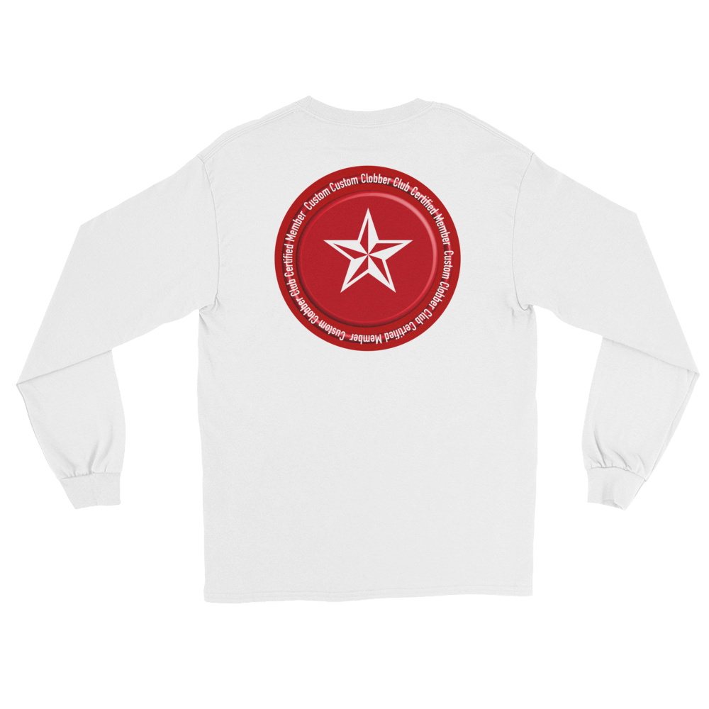 Certified Classic Long Sleeve T-Shirt - customclobberclub,  - Streetwear,T-shirts,Hoodies,Sweaters,hypebeast