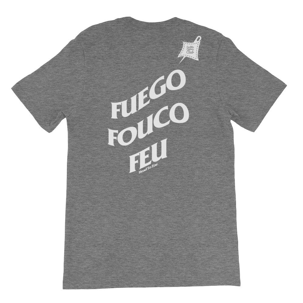 Custom Clobber Club Limited Ed. Fuego Short-Sleeve Unisex T-Shirt - customclobberclub