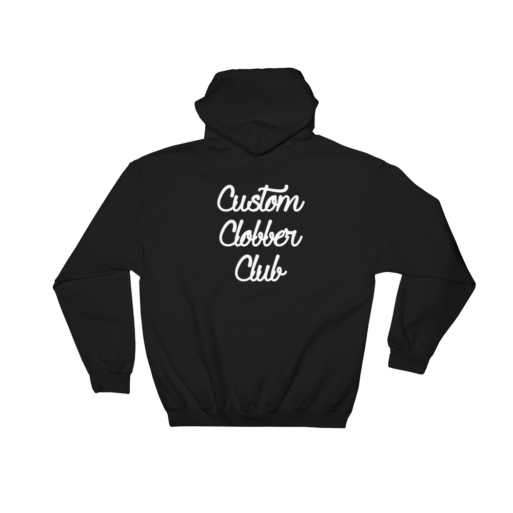 Rainbow Hooded Sweatshirt (W) - customclobberclub,  - Streetwear,T-shirts,Hoodies,Sweaters,hypebeast