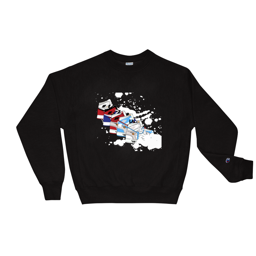 Top 5 Jordan Sneaker Champion Sweatshirt
