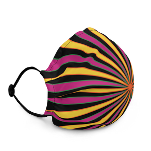 Trippy Spiral 2 Premium face mask