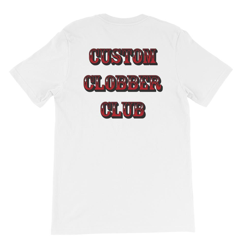 Custom Clobber Club Classic Short-Sleeve Unisex T-Shirt - customclobberclub,  - Streetwear,T-shirts,Hoodies,Sweaters,hypebeast