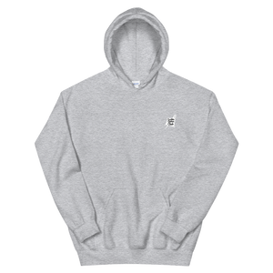 7 Sins Hooded Sweatshirt (BW)
