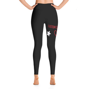 Tennis Training Leggings From Custom Clobber Club - customclobberclub,  - Streetwear,T-shirts,Hoodies,Sweaters,hypebeast