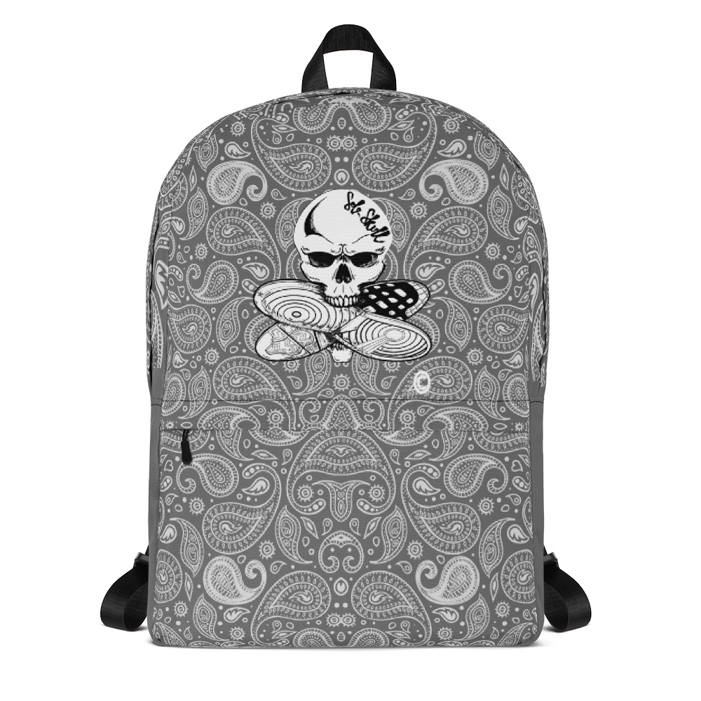 Sole Skull OG Logo Paisley Print Backpack