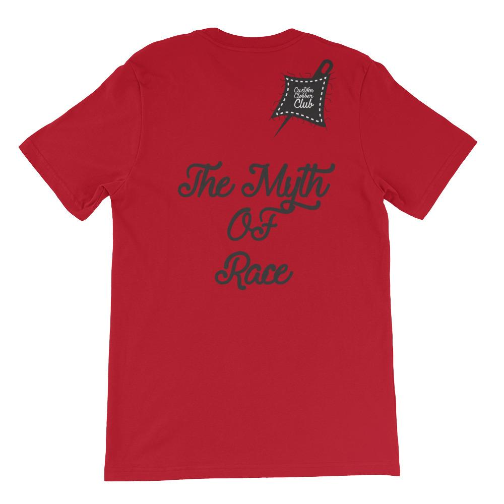 Custom Clobber Club Myth Of Race Short-Sleeve Unisex T-Shirt - customclobberclub,  - Streetwear,T-shirts,Hoodies,Sweaters,hypebeast