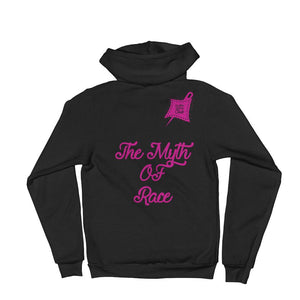 Myth Of Race Zip-Up Hoodie Sweater - customclobberclub,  - T-shirts & Sweaters