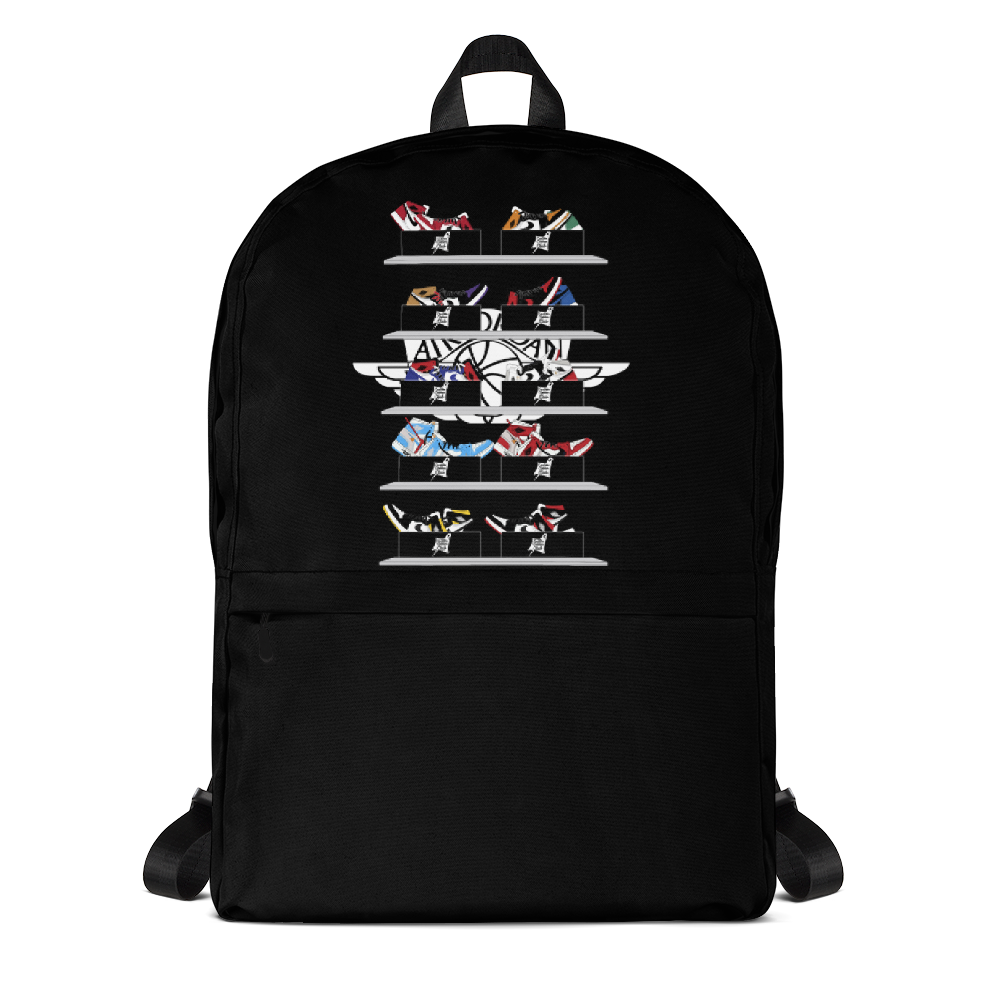 Jordan 1's Wall 2 Wall Sneaker Backpack