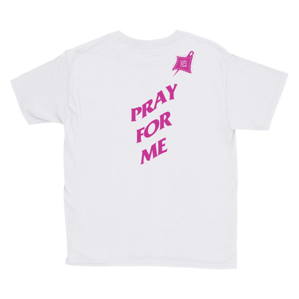 Custom Clobber Club Pray Limited Ed. Older Kids Short Sleeve T-Shirt - customclobberclub,  - Streetwear,T-shirts,Hoodies,Sweaters,hypebeast