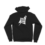 Custom Clobber Club Classic logo #1 Unisex Zip-Up Hoodie sweater