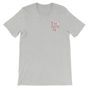Candy Cane Embroidered T-Shirt