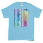 Rainbow Multi coloured Unisex T-Shirt (W) - customclobberclub,  - Streetwear,T-shirts,Hoodies,Sweaters,hypebeast