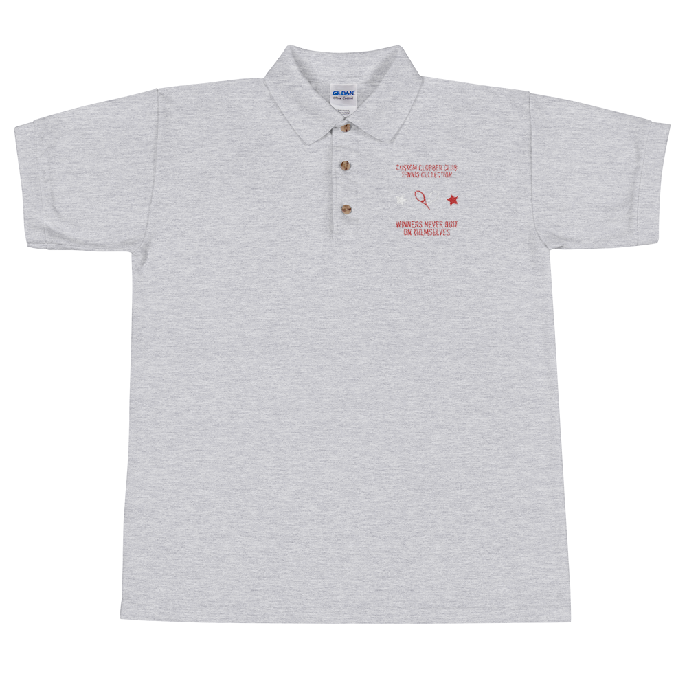 Tennis Polo Shirt From Custom Clobber Club - customclobberclub,  - Streetwear,T-shirts,Hoodies,Sweaters,hypebeast