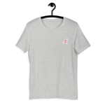 Custom Clobber Club Classic logo #1 Unisex Short Sleeve T-Shirt