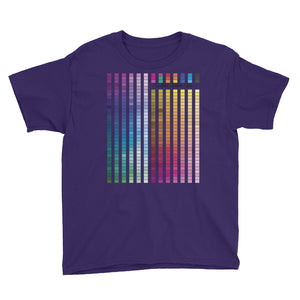 Rainbow Multi coloured Unisex Kids T-Shirt (B) - customclobberclub,  - Streetwear,T-shirts,Hoodies,Sweaters,hypebeast