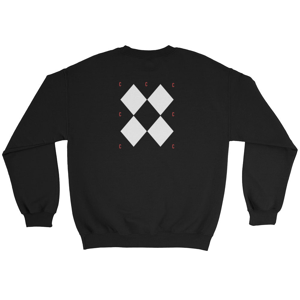 Triple C Sweatshirt Unisex From Custom Clobber Club - customclobberclub,  - Streetwear,T-shirts,Hoodies,Sweaters,hypebeast