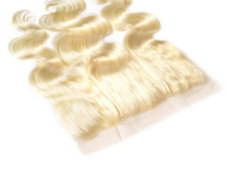# 613 Blonde Body wave Lace Frontal