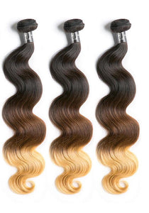 Ombre Brazilian Body Wave -3 bundles