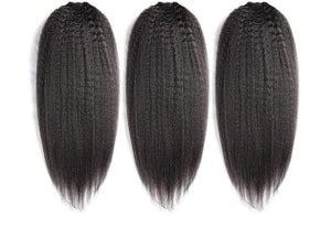 Brazilian Kinky Straight- 3 Bundles