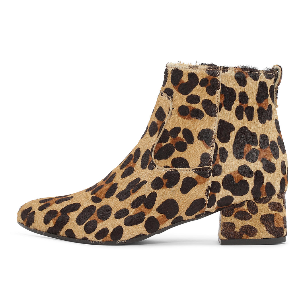 YORK Boot, Animal print (Brown/Black) 60% on sale