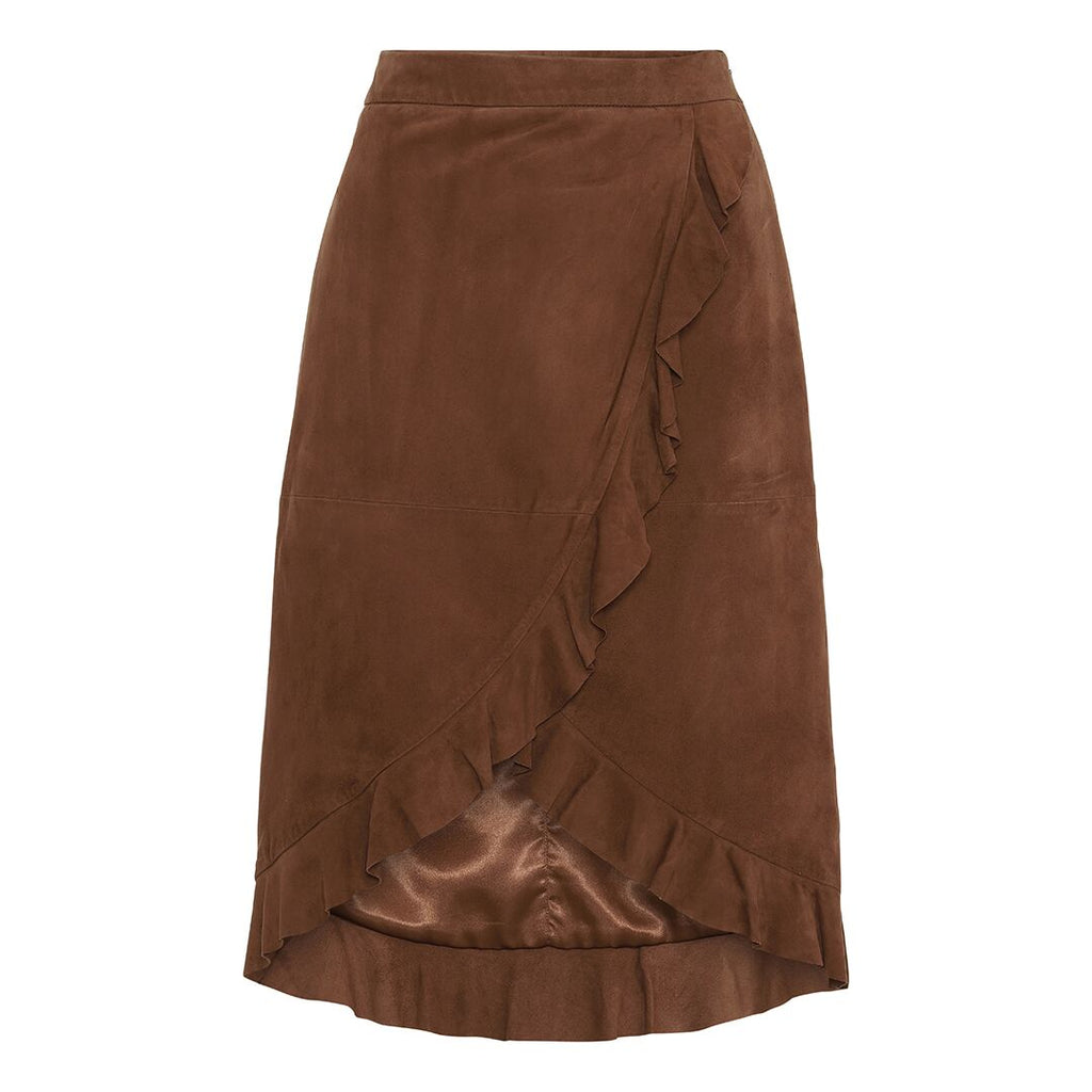IRIS skirt, Trush Suede