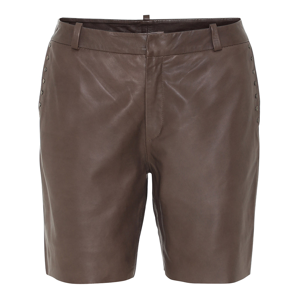 ELVINA Shorts, Black Olive 60% on sale