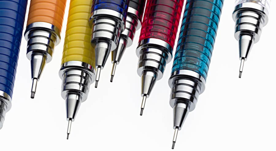 The Advantages of Using Mechanical Colored Pencils