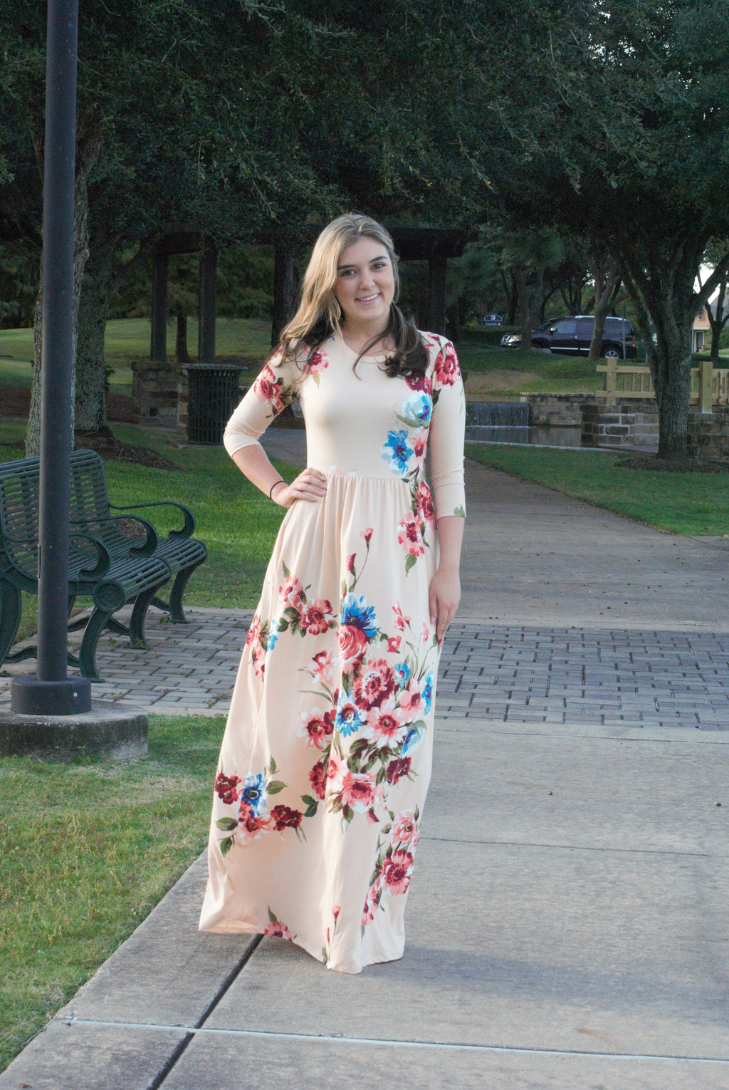 Blush and Bashful Maxi