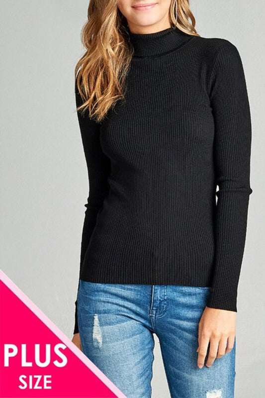 Plus Size Turtleneck