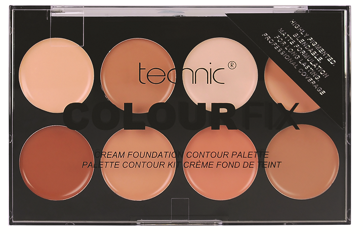 Technic Colour Fix Cream Concealer Palettes