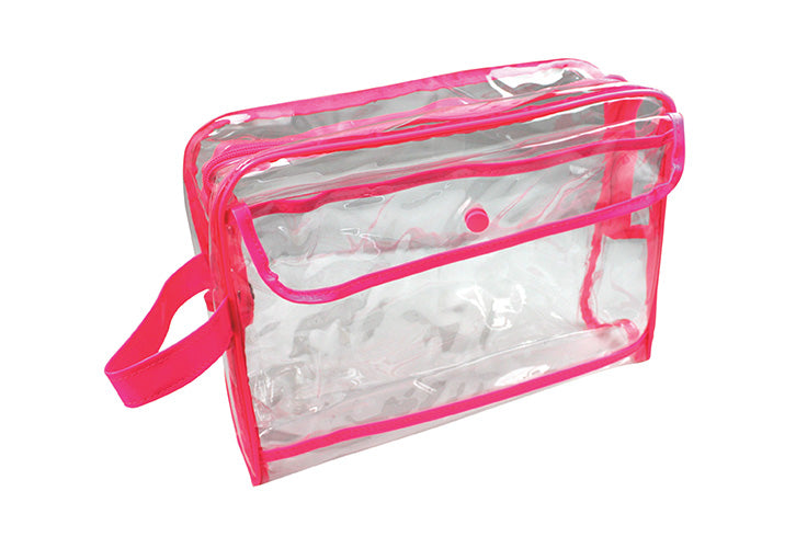 Technic Large Clear Cosmetic Bag