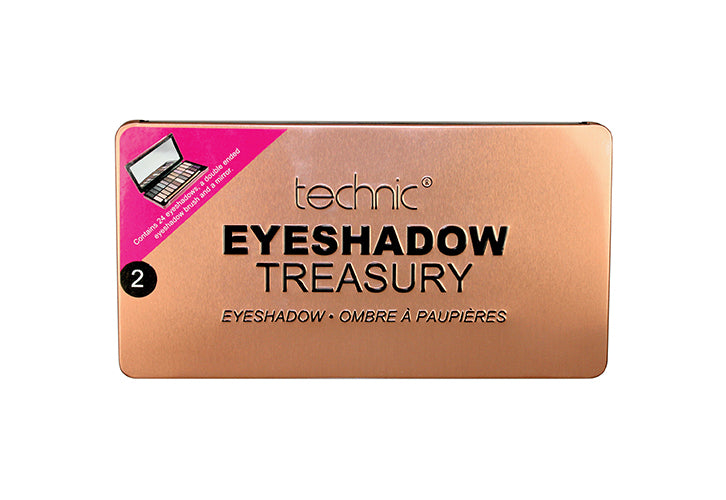 Technic Eyeshadow Treasury - Rose Gold
