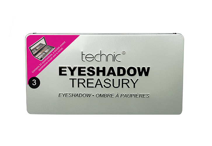 Technic Eyeshadow Treasury - Silver