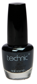 Technic Nail Varnish - Jet Black
