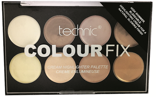 Technic Colour Fix Cream Highlighter Palette