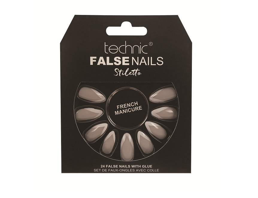 Technic False Nails - Stiletto French Manicure Tip