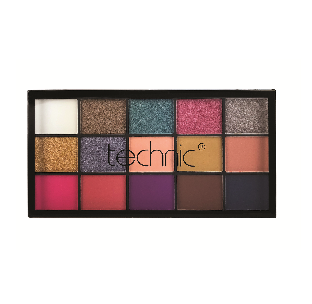 Technic Vacay Pressed Pigment Palette