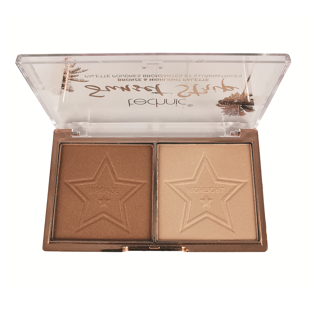 Technic Sunset Strip Highlight & Bronzer Duo