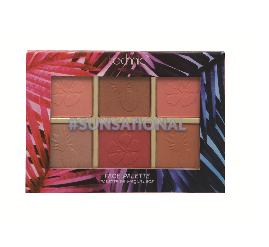 Technic Summer Vibes #Sunsational Face Palette