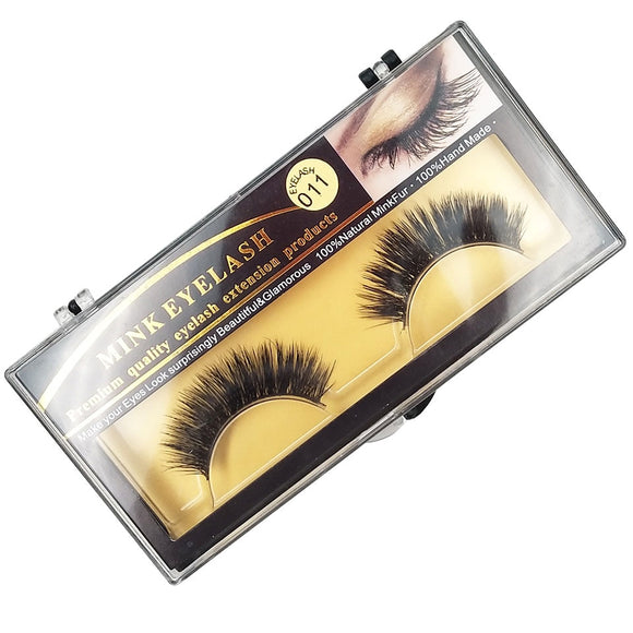 False Mink Eyelashes